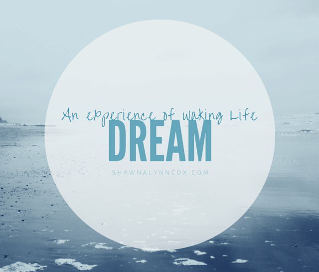 Dream – a definition image