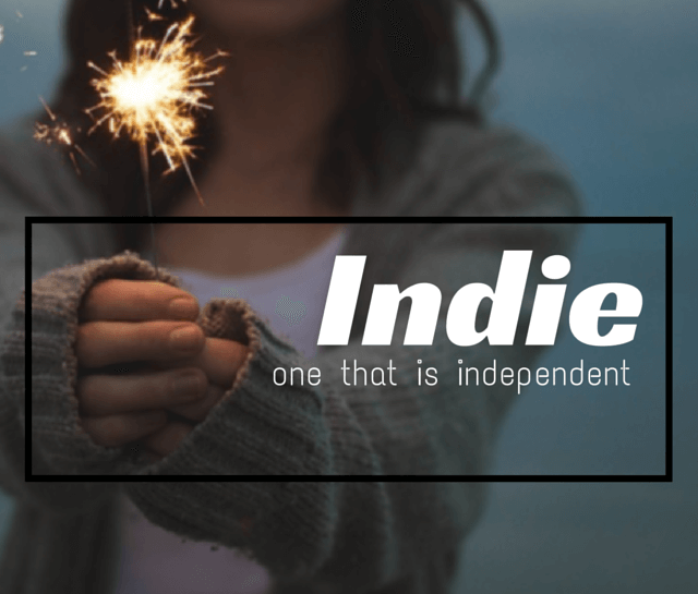 Indie – a definition image
