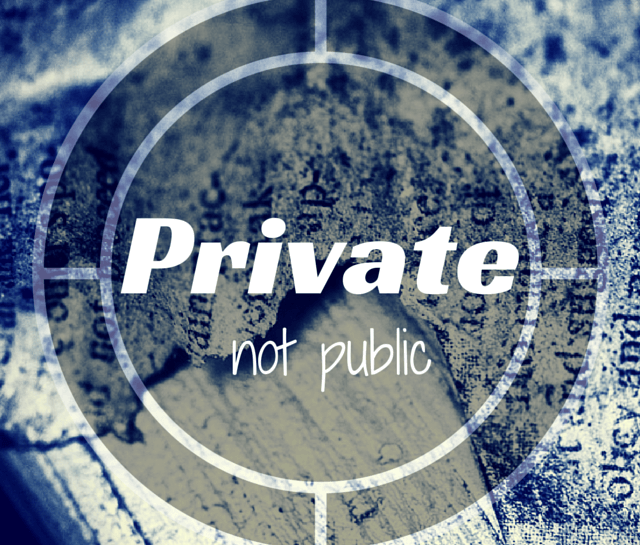 Private – a definition image