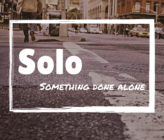 Solo – a definition image