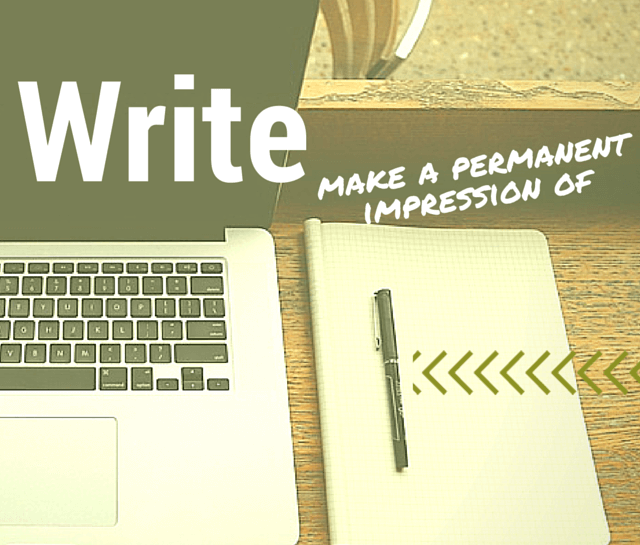 Write – a defintion image